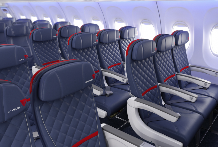 Delta just announced their new Comfort Plus product this week.