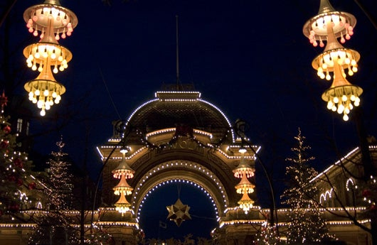 Copenhagen's Tivoli Gardens (Photo courtesy of the Copenhagen Media Center/Tivoli)