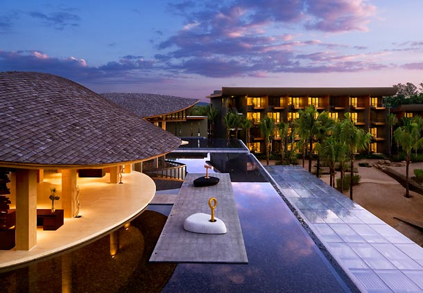 You could redeem your points for five nights at the Renaissance Phuket Resort & Spa in Thailand.