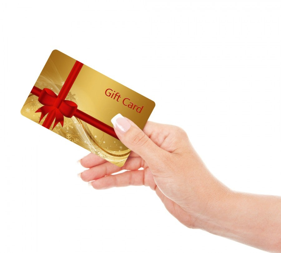Officially you can't get a credit for airline gift cards...except it usually works!