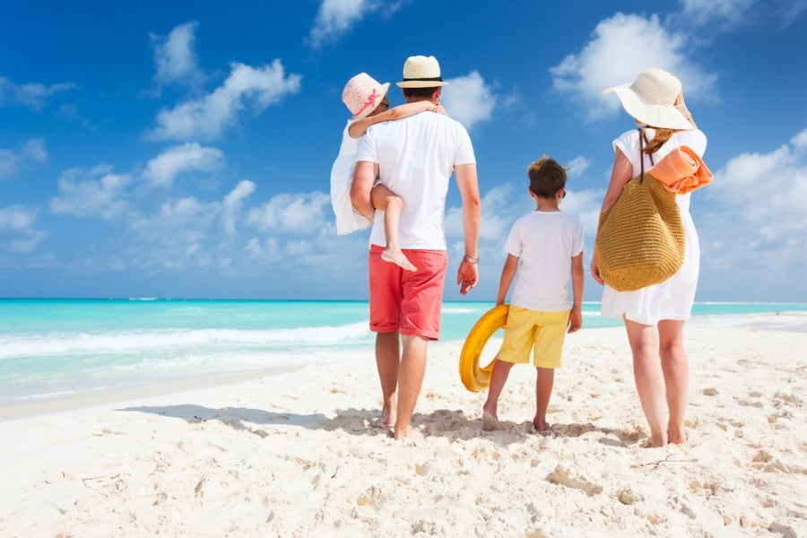 The best thing you can do when booking family award travel is be flexible. Photo courtesy of Shutterstock.