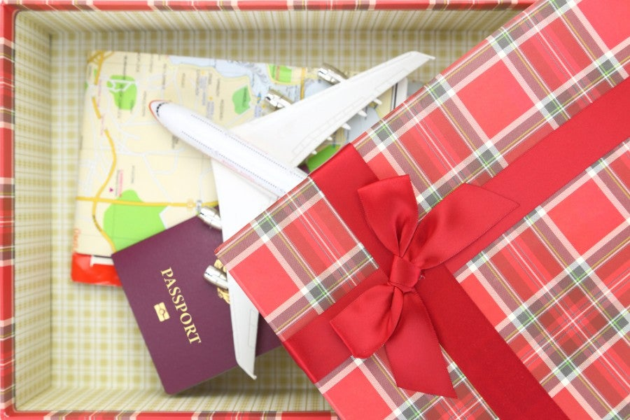 When it comes to a holiday gifts for travelers, there are a world of choices - so we've narrowed them down for you (Image courtesy by Shutterstock)