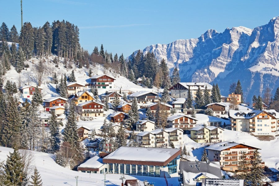 You could be skiing in the Swiss Alps this winter - for less than you'd think (Image courtesy of Shutterstock)