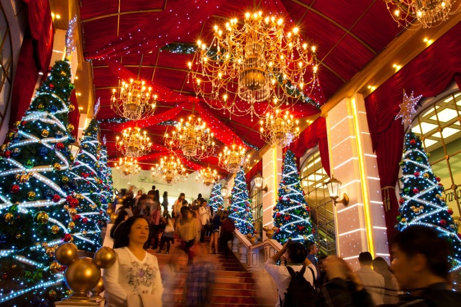 When it comes to Christmas, Hong Kong isn't kidding around (Image courtesy of Shutterstock)