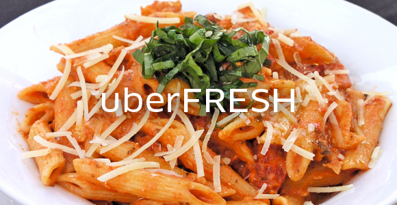 Uber is rolling out their new service UberFresh where you can order food delivery.