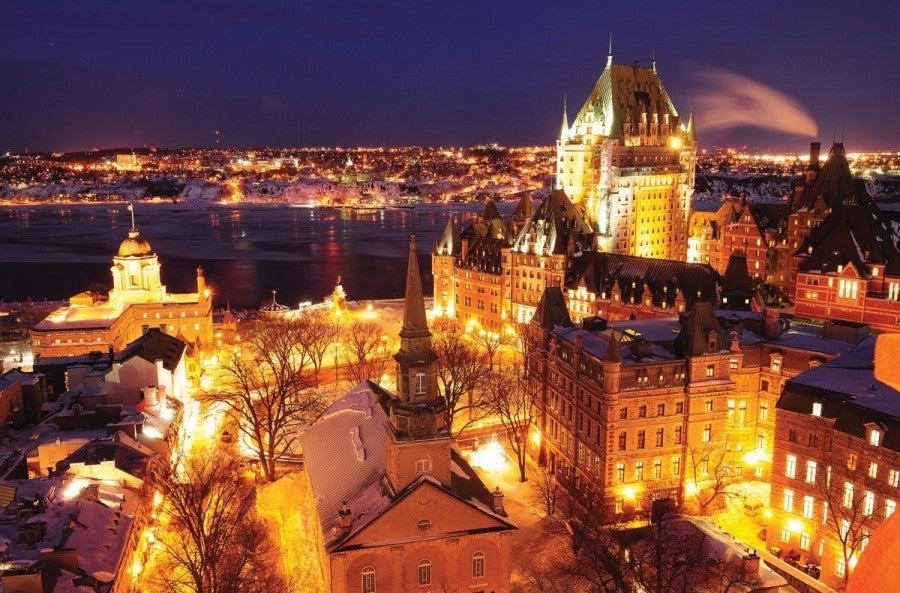 Le Petit Chateau Restaurant Quebec City