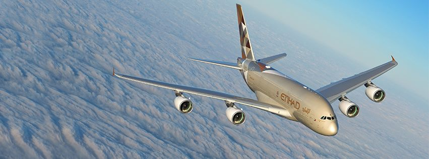 Etihad took delivery of its first A380 last November.