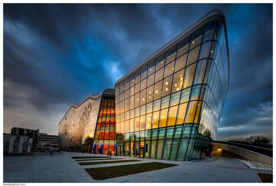 The new Krakow ICE Centre. Photo by Wojciech Wandzel.