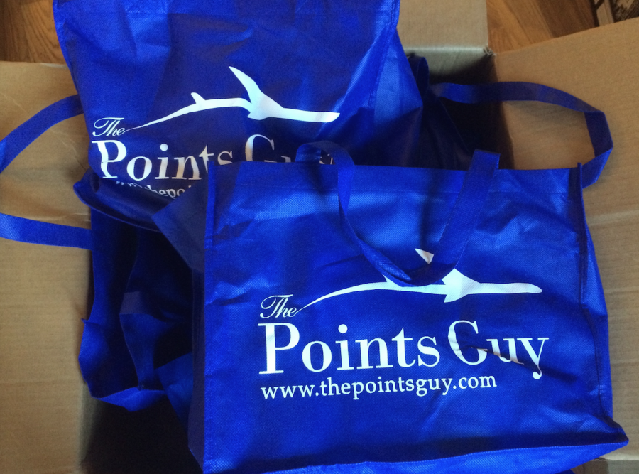 Readers who attend at TPG meet-up will be heading home with some great TPG swag.