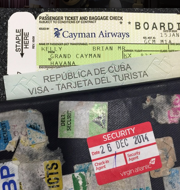 All set for Cuba!