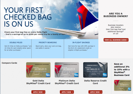 top airline credit cards that waive checked bags feesthe points guy