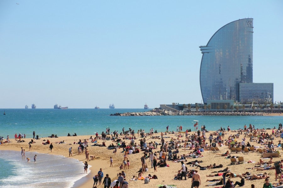 Starwood points can are great to have, allowing you to stay in fabulous hotels around the world, like the W Barcelona. Photo courtesy of Shutterstock.