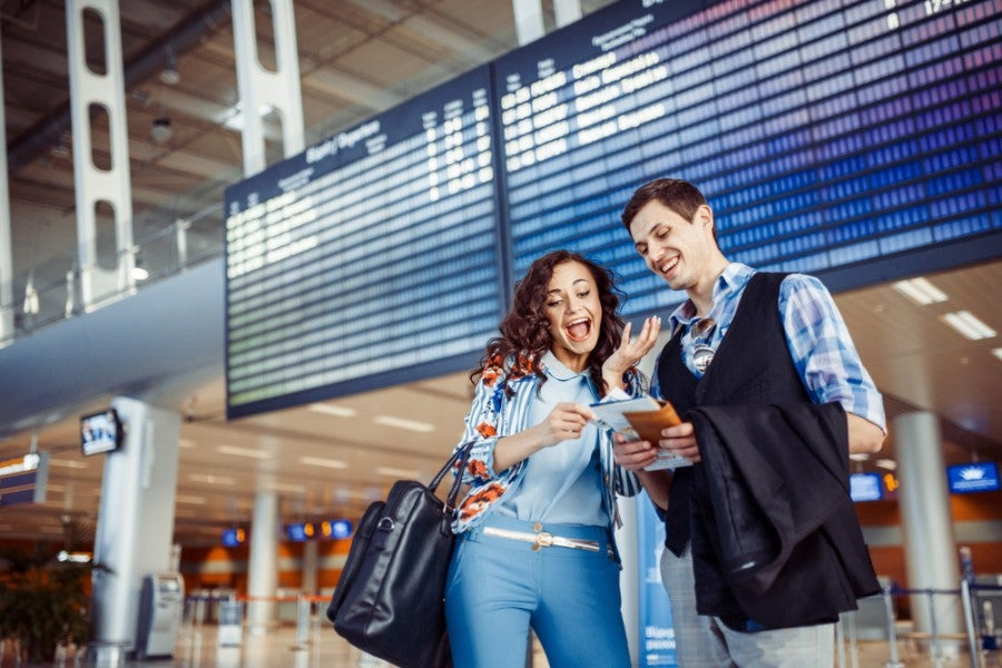 Getting that Companion is great when you want to  travel together, but can be difficult to earn. Photo courtesy of Shutterstock.