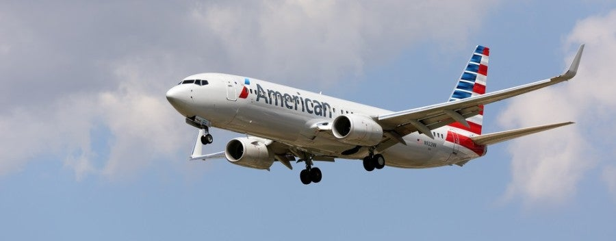 American Airlines plane shutterstock 213470935
