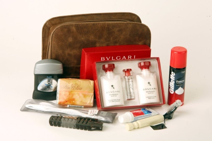 Collectables Emirates Business Class Bvlgari Amenity Kit Products Hot Sale Transportation Collectables