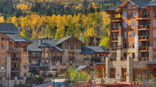 The Hyatt Escala Lodge at Park City is a great redemption spot for your anniversary certificate, even in the summer!