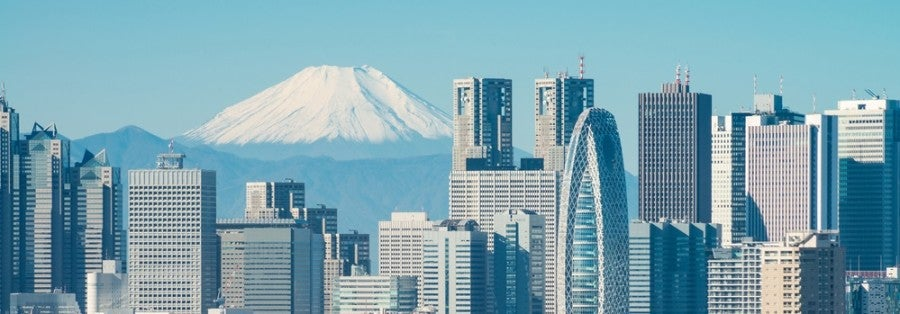 Flights to Tokyo are a great use of frequent flyer miles.