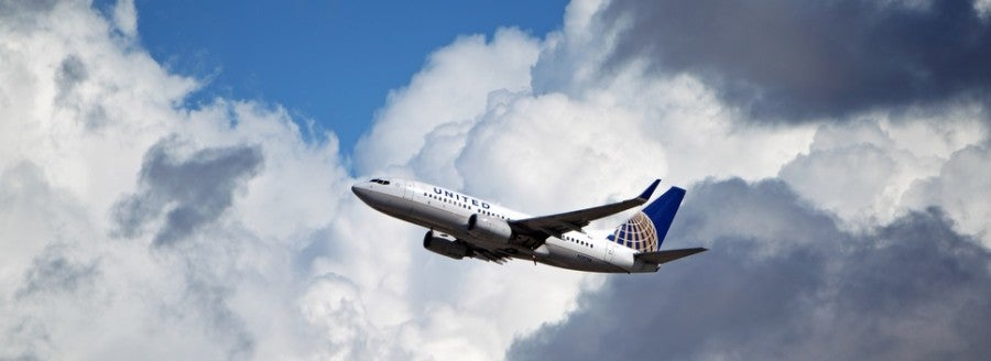 United Airlines plane shutterstock 131071832