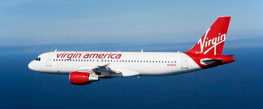 Virgin America Plane featured