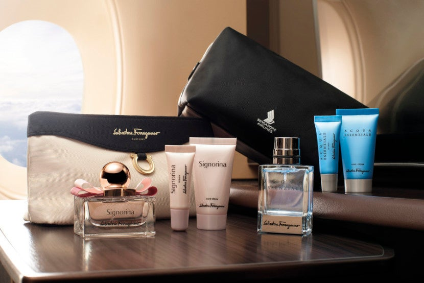 First Class Amenity Kit - Courtesy of Singapore Airlines