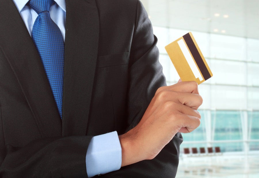 Business credit cards can have both partners as authorized users. Photo courtesy of Shutterstock.