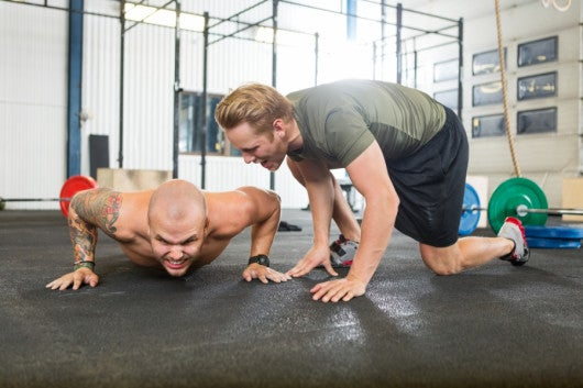 CrossFit trainers do their best to keep you feeling motivated. Photo courtesy of Shutterstock.