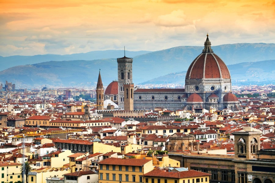 Win a Tuscan getaway to Florence. Photo courtesy of Shutterstock.