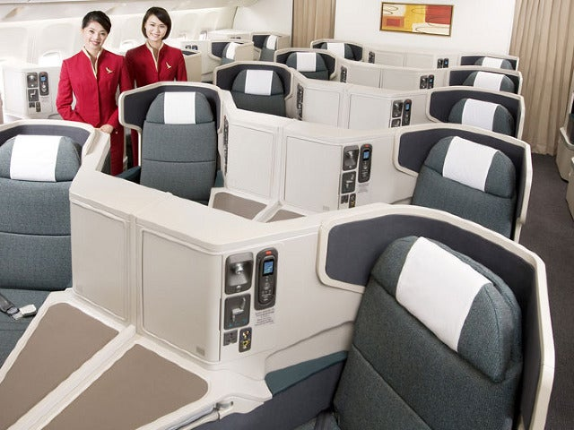 Why not redeem your miles for Cathay's stellar business class?