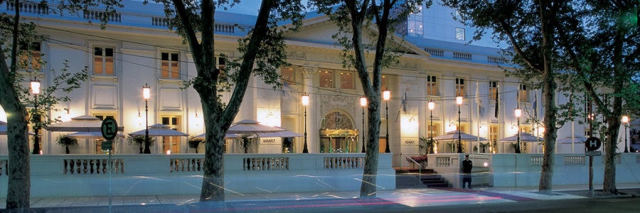 The beautifully 19th-century architecture of the Park Hyatt Mendoza is one appealing aspect of this Category 2 property.