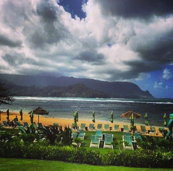 With Kauai's micro-climates, you never know what weather you're going to get- especially on the north shore