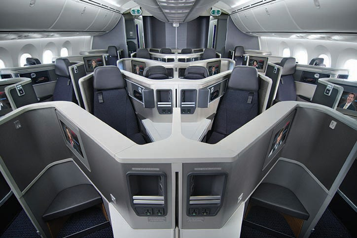 American will fly its DFW-EZE route aboard its new 787. Photo courtesy of American Airlines.