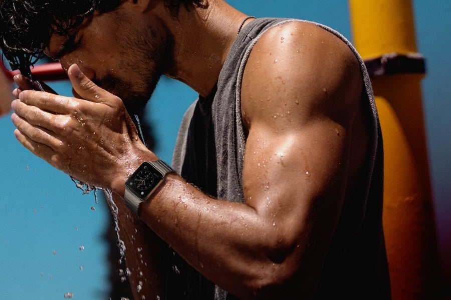 Apple watch water resistant