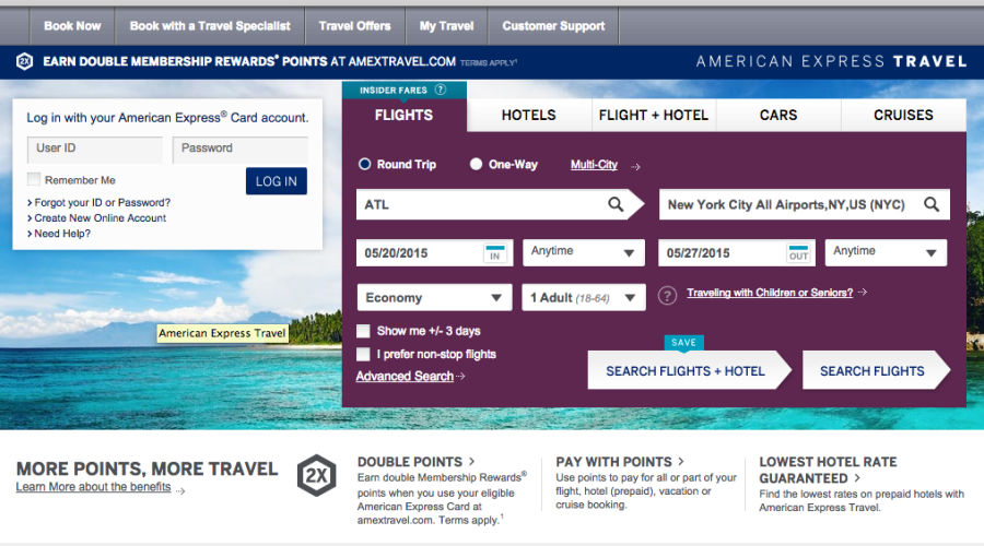 The American Express Travel Engine Boasts Perks And Bonus Points But Does It All Add