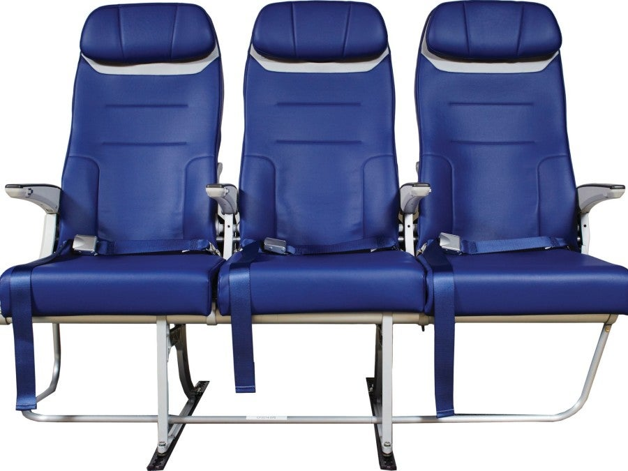 The new Southwest seat, coming soon to the 737 aircraft. Photo courtesy of Southwest Airlines.