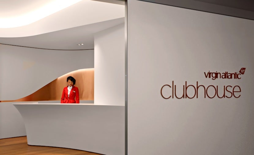 Virgin Atlantic LAX Clubhouse Reception