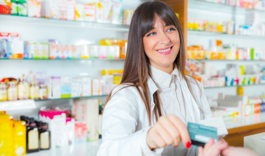 Make sure to maximize pharmacy purchase by using the right credit card. Photo courtesy of Shutterstock.