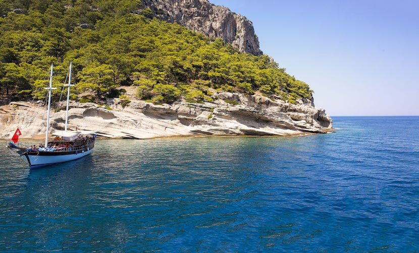 So much to discover sailing through Turkey. Photo courtesy Shutterstock.