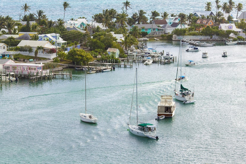 The Bahamas' Out Islands are a sailor's paradise. Photo courtesy Shutterstock.