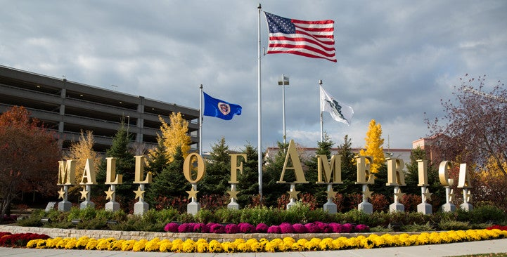A stay at the Hilton should include a trip to the Mall of America