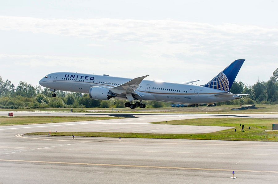 United Dreamliner 787-9