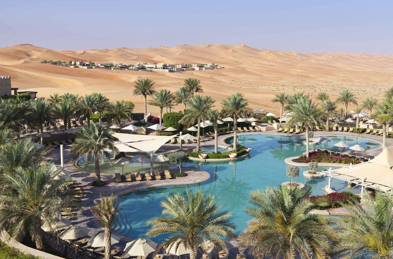 Enjoy this water oasis in the middle of the desert