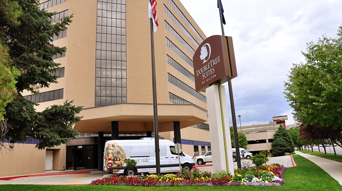 You're guaranteed a suite (and a sweet treat) when you arrive at the DoubleTree in Downtown Salt Lake City