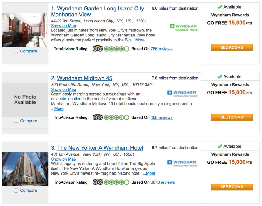 You Now Need Only 15 000 Points Per Night To Stay With Wyndham