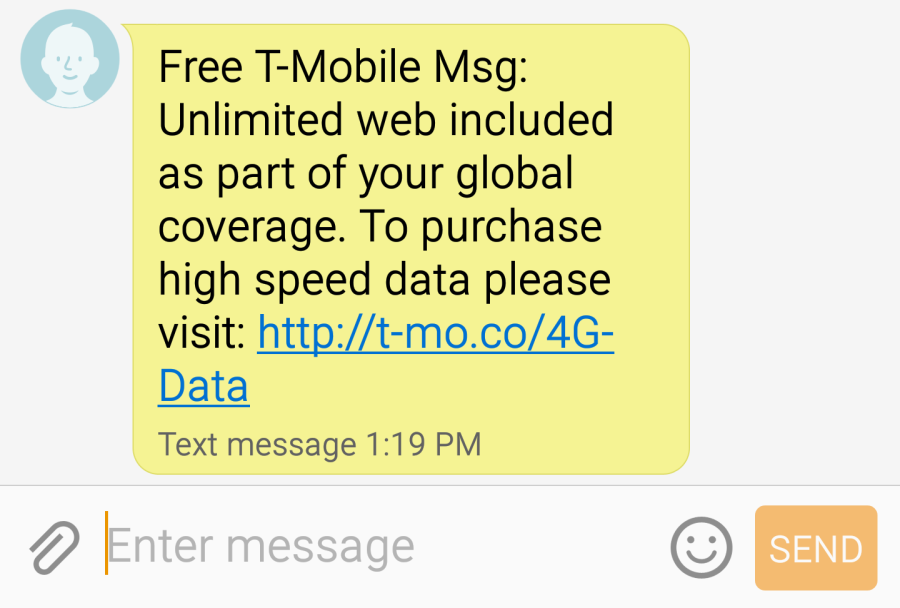 Review Free Data In 120 Countries With T Mobile