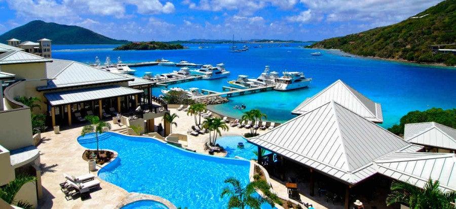 Scrub Island Resort & Spa is located on a private island off Tortola in the British Virgin Islands.