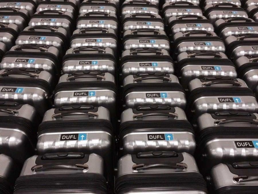 dufl suitcase fleet