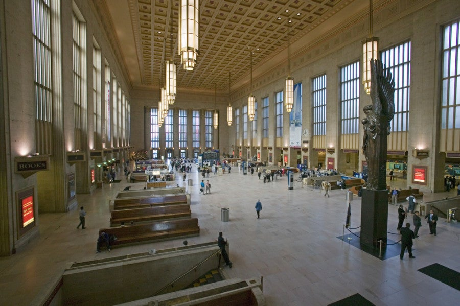 Amtrak Station Philadelphia
