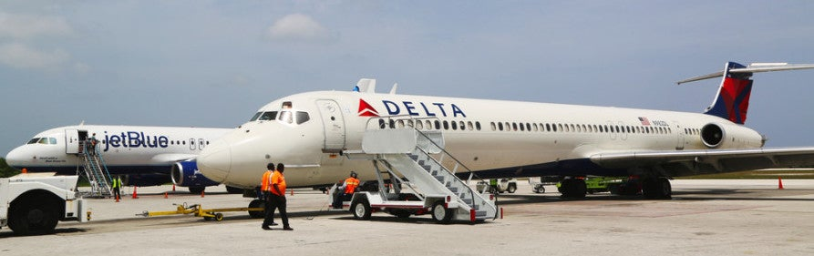 Boston dwellers can fly JetBlue or Delta. Photo courtesy of Shutterstock.