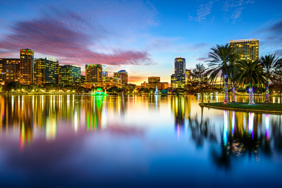 You can now fly to Orlando on Southwest from Washington DCA. Photo courtesy of Shutterstock.