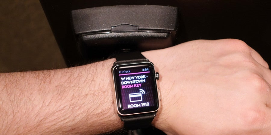 W Hotels Apple Watch